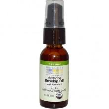 Aura Cacia Rosehip Oil wxVitamin E (1 OZ)
