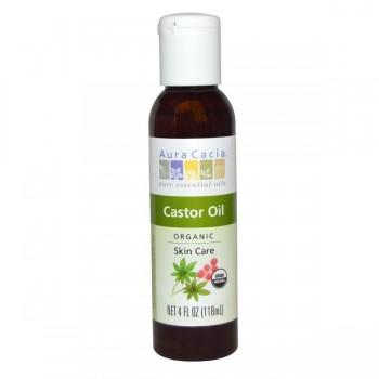 Aura Cacia Castor Oil (4 OZ)