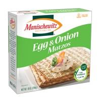 Manischewitz Matzo, Egg and Onion (12x10 OZ)
