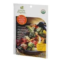 Simply Organic Sesame Ginger (12x1 OZ)
