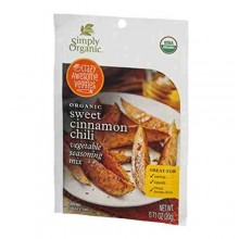 Simply Organic Sweet Cinnamon Chili (12x.71 OZ)