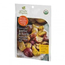 Simply Organic Garlic & Herb (12x.71 OZ)