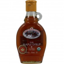 Shady Maple Farms Grade a Dark Maple Syrup Glass (12x16.9 Oz)