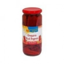 Mediterranean Organics Roasted Red Peppers (12x16 Oz)