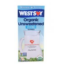 Westsoy Vanilla Unsweetened Westsoy (12x32 Oz)