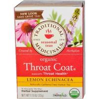 Traditional Medicinals Lemon Echinacea Throat Herb Tea (6x16 Bag)