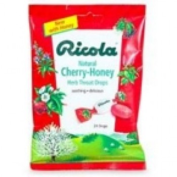Ricola Cherry Honey Throat Drop (12x24 CT)