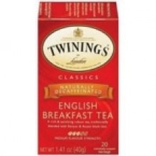 Twinings Decaf English Breakfast Tea (6x20 Bag)