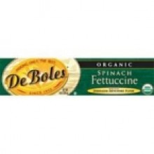 DeBoles Spinach Fettuccine (12x8 Oz)