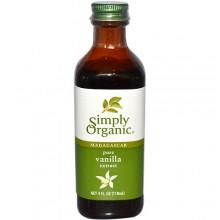 Simply Organic Vanilla Extract (6x4 Oz)