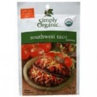 Simply Organic Southwest Taco (12x1.3 Oz)