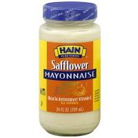 Hain Pure Foods Safflower Mayonnaise (12x24 Oz)