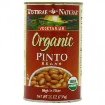 Westbrae Foods Pinto Beans (12x25 Oz)