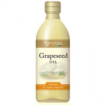 Spectrum Naturals Refined Grapeseed Oil (12x16 Oz)