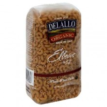 De Lallo Elbows Whole Wheat Pasta #52 (16x1 LB)