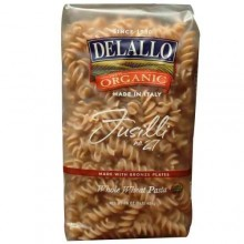 De Lallo Fusilli Whole Wheat Pasta #27 (16x1 LB)