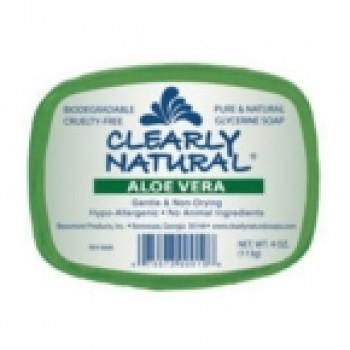 Clearly Naturals Aloe Vera Soap (1x4 Oz)
