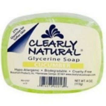 Clearly Naturals Cucumber Soap (1x4 Oz)