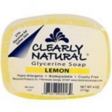 Clearly Naturals Lemon Soap (1x4 Oz)