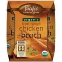 Pacific Natural Chicken Broth (6x4x8 Oz)