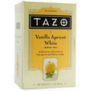 Tazo Tea Vanilla Apricot White Tea (6x20 Bag)