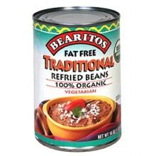 Little Bear Regular Refried Beans Fat-Free (12x16 Oz)