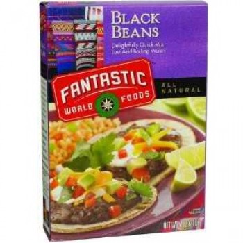 Fantastic Foods Instant Black Beans (1x3-3.3 Lb)