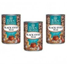 Eden Foods Black Eyed Peas (12x15 Oz)