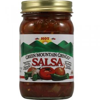 Green Mountain Hot Salsa (12x16 Oz)