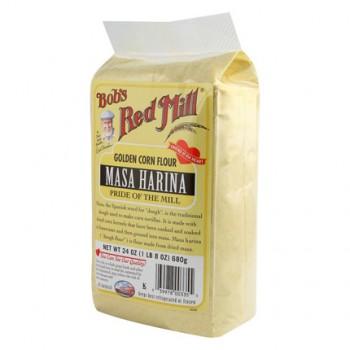 Bob's Corn Flour (Masa Harina) ( 4x24 Oz)