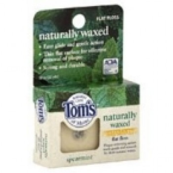 Tom's Of Maine Anti Plaque Flat Spearmint Floss (6x32 YD)