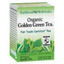 Traditional Medicinals Golden Green Herb Tea (6x16 Bag)