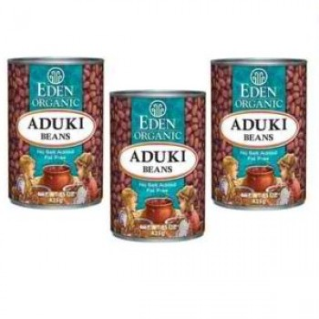 Eden Foods Adzuki Beans Can (12x15 Oz)