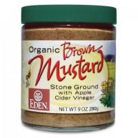 Eden Foods Brown Mustard Glass (12x9 Oz)
