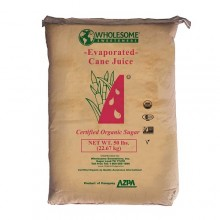 Wholesome Sweeteners Evaporated Cane Sugar Juice (1x50lb)