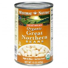 Westbrae Foods Great Northern Beans (12x15 Oz)