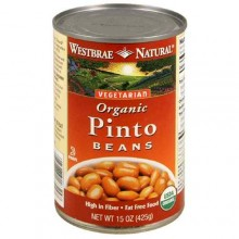 Westbrae Foods Pinto Beans Fat Free (12x15 Oz)