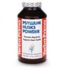 Yerba Prima Psyllium Husks Powder (1x12 Oz)