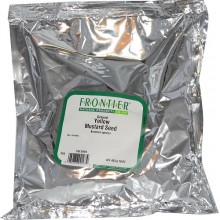 Frontier Herb Org Ground Yellow Mustard Seed (1x1lb)