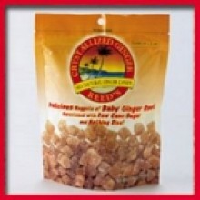 Reed's Ginger Beer Crystallized Ginger Pouch ( 6x16 Oz)