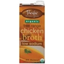 Pacific Natural Chicken Low Sodium Broth (12x32 Oz)