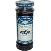 St. Dalfour Black Raspberry 100% Fruit Conserve (6x10 Oz)