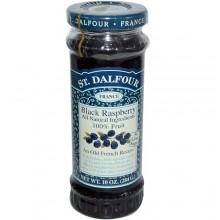 St. Dalfour Black Raspberry 100% Fruit Conserve (6x10 Oz)