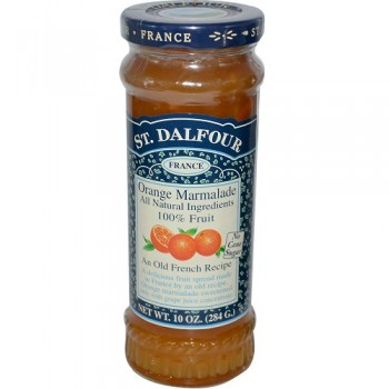 St. Dalfour Orange Marmalade 100% Fruit Conserve (6x10 Oz)