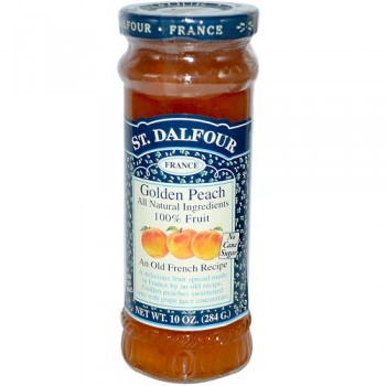 St. Dalfour Peach 100% Fruit Conserve (6x10 Oz)
