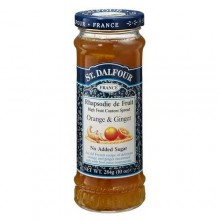 St. Dalfour Ginger Orange 100% Fruit Conserve (6x10 Oz)