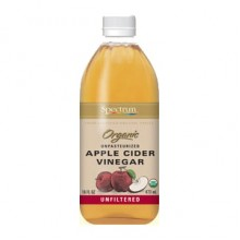 Spectrum Naturals Unfiltered Apple Cider Vinegar (4x1 Gal)