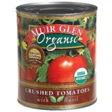 Muir Glen Crushed Tomato With Basil (12x28 Oz)