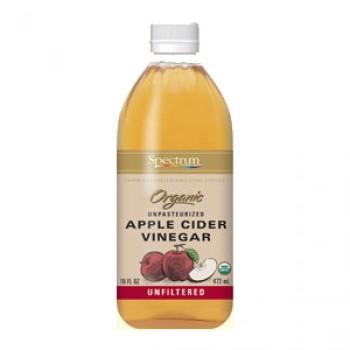 Spectrum Naturals Unfiltered Apple Cider Vinegar (12x32 Oz)
