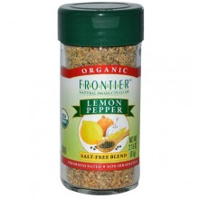 Frontier Herb Saltless Lemon Pepper (1x1.36 Oz)